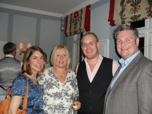 Marielle (Hay House), Me, Simon (Hay House) and David Wells